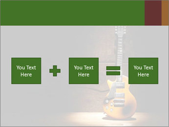 Electric guitar PowerPoint Template - Slide 95
