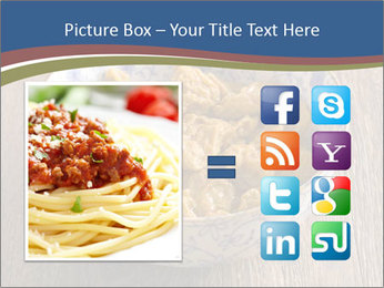 Soy Meat Dish PowerPoint Template - Slide 21
