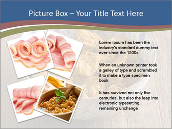 Soy Meat Dish PowerPoint Template - Slide 23