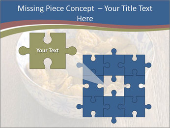 Soy Meat Dish PowerPoint Template - Slide 45