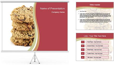 Sweet Cookie PowerPoint Template
