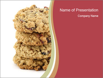 Sweet Cookie PowerPoint Templates - Slide 1