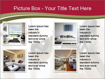Stylish Living Room PowerPoint Templates - Slide 14