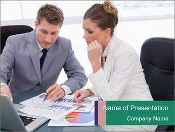 Business Teamwork PowerPoint Template - Slide 1