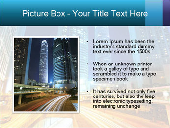Traffic through downtown PowerPoint Templates - Slide 13