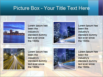 Traffic through downtown PowerPoint Templates - Slide 14