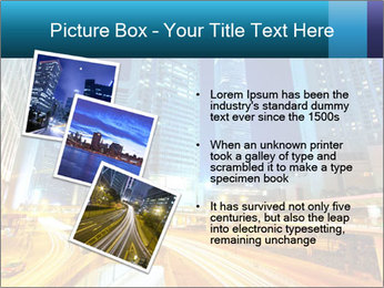 Traffic through downtown PowerPoint Templates - Slide 17