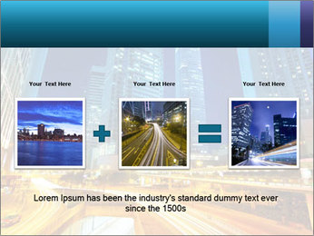 Traffic through downtown PowerPoint Templates - Slide 22