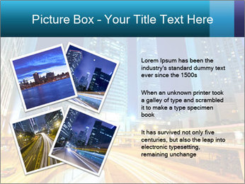 Traffic through downtown PowerPoint Templates - Slide 23