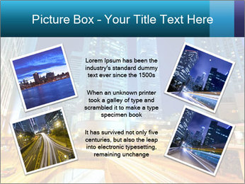Traffic through downtown PowerPoint Templates - Slide 24