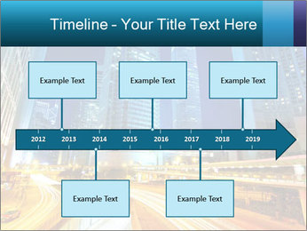 Traffic through downtown PowerPoint Templates - Slide 28