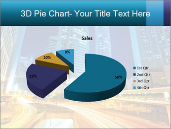 Traffic through downtown PowerPoint Templates - Slide 35