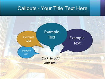 Traffic through downtown PowerPoint Templates - Slide 73