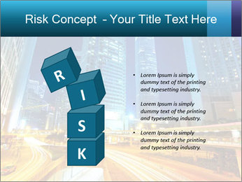 Traffic through downtown PowerPoint Templates - Slide 81