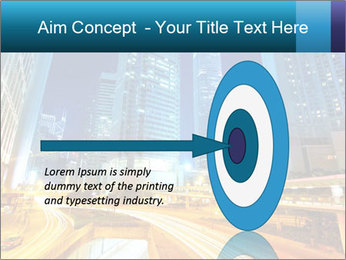 Traffic through downtown PowerPoint Templates - Slide 83
