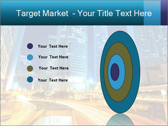 Traffic through downtown PowerPoint Templates - Slide 84