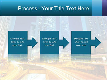 Traffic through downtown PowerPoint Templates - Slide 88