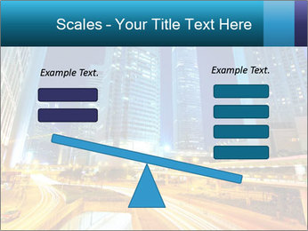 Traffic through downtown PowerPoint Templates - Slide 89