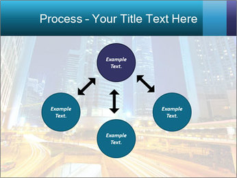 Traffic through downtown PowerPoint Templates - Slide 91