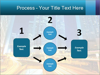 Traffic through downtown PowerPoint Templates - Slide 92