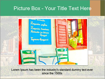 Beautiful view with outdoor restaurant PowerPoint Template - Slide 15