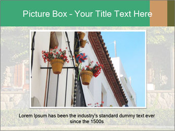 Beautiful view with outdoor restaurant PowerPoint Template - Slide 16