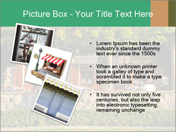 Beautiful view with outdoor restaurant PowerPoint Template - Slide 17