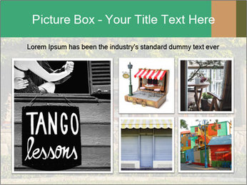 Beautiful view with outdoor restaurant PowerPoint Template - Slide 19