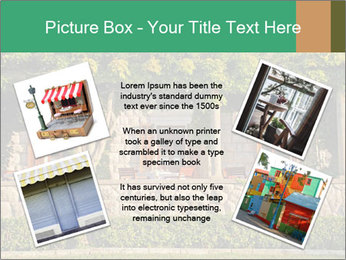 Beautiful view with outdoor restaurant PowerPoint Template - Slide 24