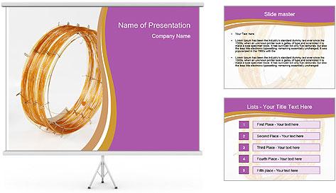 Capillary column equipment PowerPoint Template