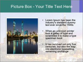 Skyline of Nashville PowerPoint Templates - Slide 13