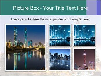 Skyline of Nashville PowerPoint Templates - Slide 19