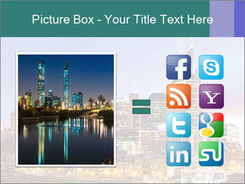 Skyline of Nashville PowerPoint Templates - Slide 21