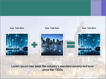 Skyline of Nashville PowerPoint Templates - Slide 22