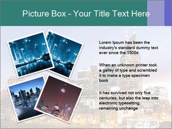 Skyline of Nashville PowerPoint Templates - Slide 23