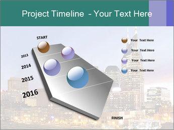 Skyline of Nashville PowerPoint Templates - Slide 26