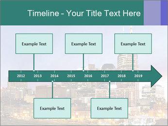Skyline of Nashville PowerPoint Templates - Slide 28