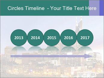 Skyline of Nashville PowerPoint Templates - Slide 29