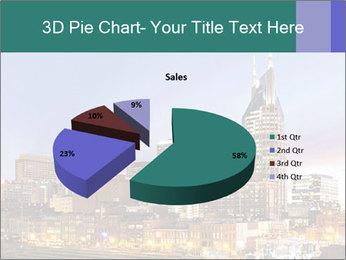 Skyline of Nashville PowerPoint Templates - Slide 35