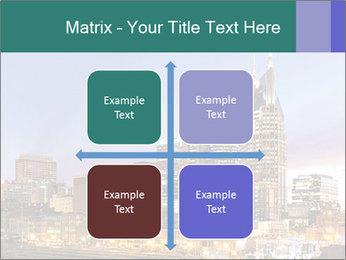 Skyline of Nashville PowerPoint Templates - Slide 37