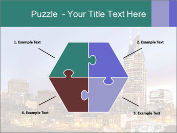 Skyline of Nashville PowerPoint Templates - Slide 40