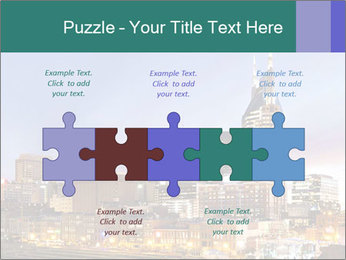 Skyline of Nashville PowerPoint Templates - Slide 41