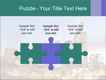 Skyline of Nashville PowerPoint Templates - Slide 42