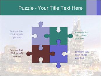 Skyline of Nashville PowerPoint Templates - Slide 43