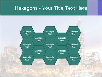 Skyline of Nashville PowerPoint Templates - Slide 44