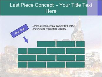 Skyline of Nashville PowerPoint Templates - Slide 46
