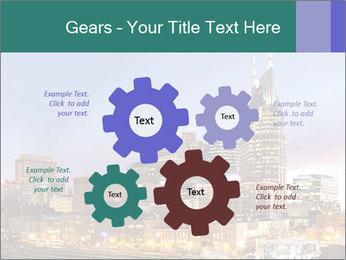 Skyline of Nashville PowerPoint Templates - Slide 47