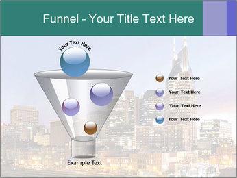 Skyline of Nashville PowerPoint Templates - Slide 63