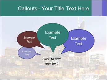 Skyline of Nashville PowerPoint Templates - Slide 73