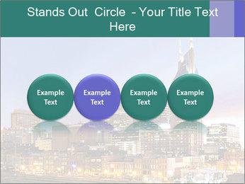 Skyline of Nashville PowerPoint Templates - Slide 76